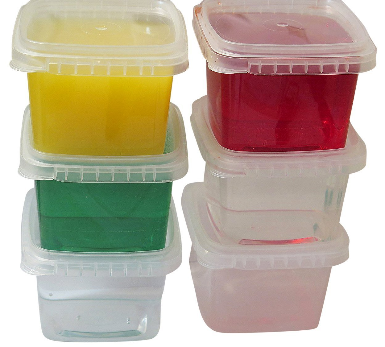 Space Saver Deli Food Storage Containers With Lids 16 Oz Tamper