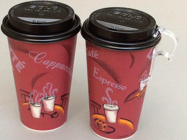Bistro Design Paper Hot Cups 12 Oz Bistro 100 Sets Coffee